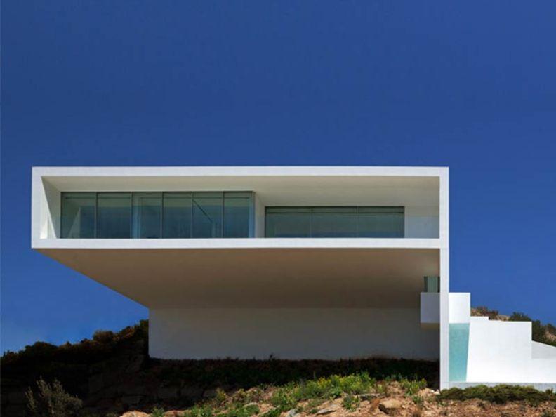 Ejemplos acabados - Fran Silvestre arquitectos - casa calpe sate