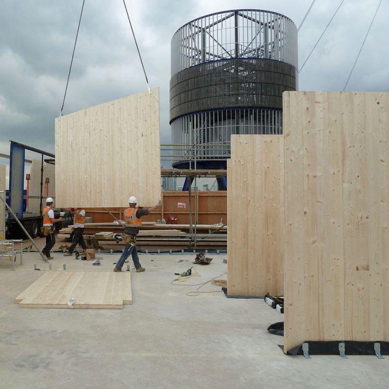 ite arquitectes - klh estructura madera